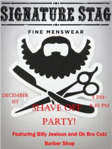 shave-off-party-flier